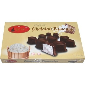 پشمک لقمه ای شکلاتی