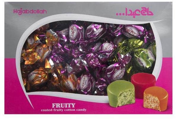 پشمک میوه ای حاج عبدالله