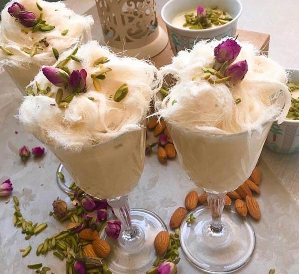 پشمک صادراتی لیوانی