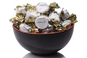 پشمک شکلاتی صادراتی