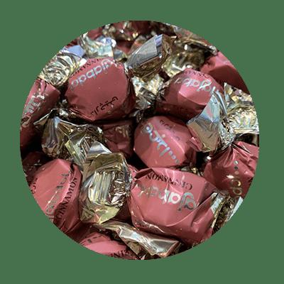پشمک شکلاتی لقمه ای